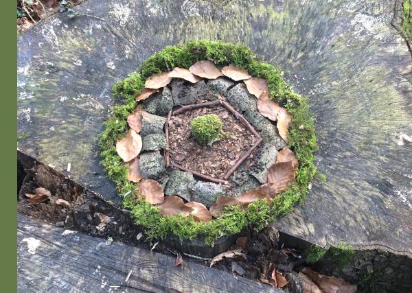 Waldbaden 'kreativ'